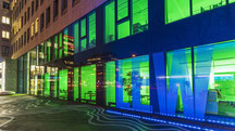 Lechwerke AG Hauptgebäude in Augsburg