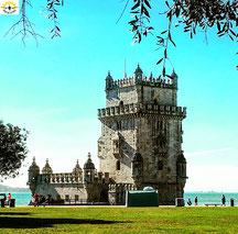 Da geht´s hin: zum Torre de Belém.