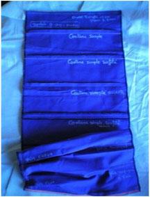 Le patchwork               des différentes Coutures