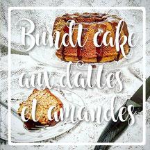 cuisinouverte.com, Bundt cake, vegan, sans sucre ajouté.