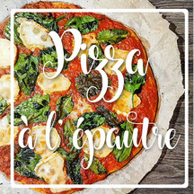 cuisinouverte.com, pizza à l'épeautre, vegan.