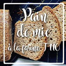 cuisinouverte.com, pain de mie à l'huile d'olive et coco, vegan.