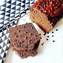 cuisinouverte.com,cake du hasard,double choc,sans gluten,vegan,sans sucre ni matière grasse ajoutés.