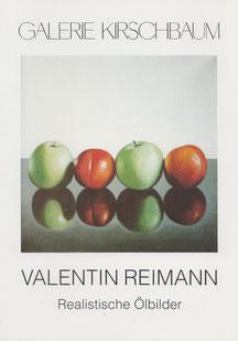 Einladung zur Ausstellung, Galerie Kirschbaum
