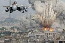 US-Luftangriff in Syrien. Bild: Alalam.ir