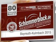 Angebot ab sofort bis einschließlich 1.Dezember 2015 gültig. Holen Sie sich bei uns den Schlemmerblock für 29,90 € 2 Hauptgerichte zum Preis von 1 (günstigere oder wertgleiche ist gratis).
