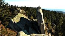 Nußhardt auf 972 m im Fichtelgebirge