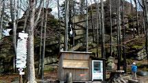 Wanderziel Großer Waldstein 877 m