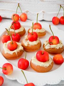 Donuts mit Kirscheierlikör