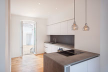 Sanierung und Innenarchitektur für ein Wohnhaus