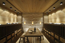 Konzept udn Design für einen Wein- und Wellnessbereich in München