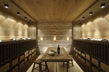 Hage Architektur & Interior - Konzept und Design für einen Wein- und Wellnessbereich in München