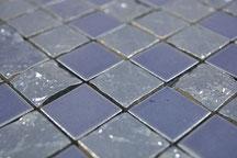 mosaico ceramica spacco blu