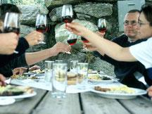 Barbecue, Grilladen, Verpflegung, Obergoms, Wallis