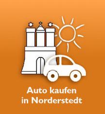 """Grafik: """"Ihr Gebrauchtwagenhändler in Norderstedt"""""""