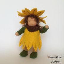 Blumenkinderwerkstatt Sonnenblume mit Beinchen