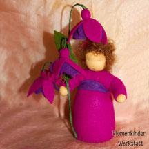 Blumenkinderwerkstatt Fuchsie lila
