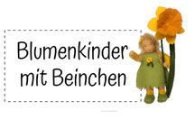 www.blumenkinderwerkstatt.de Blumenkinder mit Beinchen