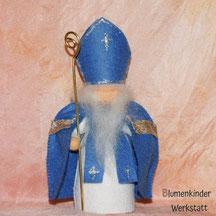 Blumenkinderwerkstatt Nikolaus in blau