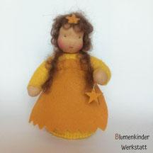 Blumenkinderwerkstatt Sternchen mit gelben Holzstern