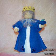 Blumenkinderwerkstatt König blau