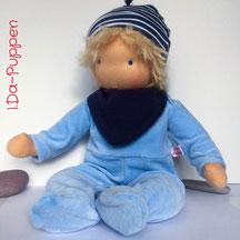 I.Da-Puppen: Stoffpuppe Johan40cm