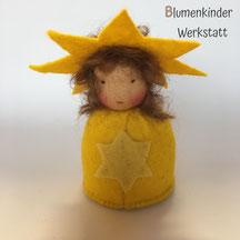 Blumenkinderwerkstatt Sternchen Kegelpuppe