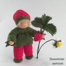 Blumenkinderwerkstatt Erdbeerjunge