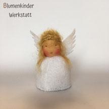 Blumenkinderwerkstatt Engel blond Zöpfe