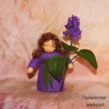 Blumenkinderwerkstatt Flieder hellila