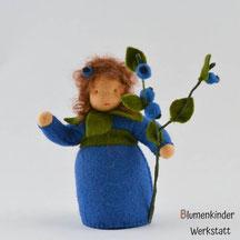 Blumenkinderwerkstatt Blaubeermädchen