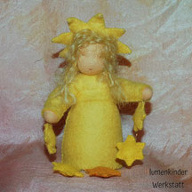 Blumenkinderwerkstatt Sternchen mit Sternenkette