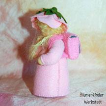 Blumenkinderwerkstatt Schulkind Heckenröschen