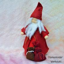Blumenkinderwerkstatt Weihnachtsmann gross