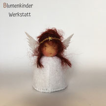 Blumenkinderwerkstatt Engel rotbraune Zöpfe
