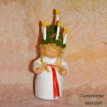 Blumenkinderwerkstatt Lucia aufwändige Krone