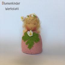 Blumenkinderwerkstatt Buschwindröschen Kegelpuppe