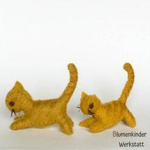 Blumenkinderwerkstatt Katzen gross und klein
