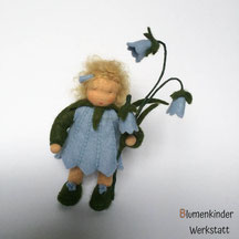 Blumenkinderwerkstatt Glockenblume mit Beinchen