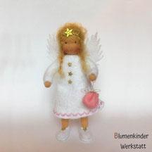 Blumenkinderwerkstatt Engel mit Beinchen Sorgenbeutel