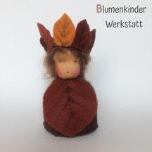 Blumenkinderwerkstatt Buchenblatt Kegelpuppe