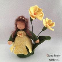 Blumenkinderwerkstatt Primel gelb