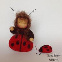 Blumenkinderwerkstatt mini Marienkäfer