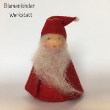 Blumenkinderwerkstatt Weihnachtsmann Legelpuppe