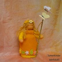 Blumenkinderwerkstatt Frühlingsprinzessin mit Stab