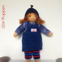 I.Da-Puppen: Stoffpuppe Kari 26cm
