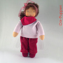 I.Da-Puppen: Stoffpuppe Alica 36cm