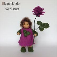 Blumenkinderwerkstatt Rotklee mit Beinchen