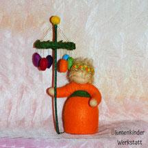 Blumenkinderwerkstatt Osterbaumträgerin