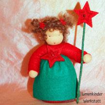 Blumenkinderwerkstatt Wichtelkind mit Stern am Stab